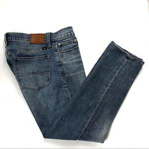 Lucky Brand Sweet Crop Jeans Denim 4/27 (#32)